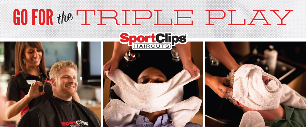 The Sport Clips Haircuts of Village Walk in Eastlake Triple Play